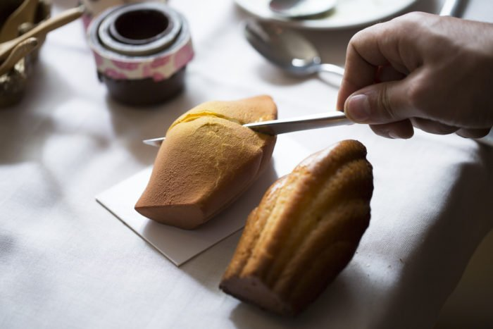 entremets madeleine du Ritz