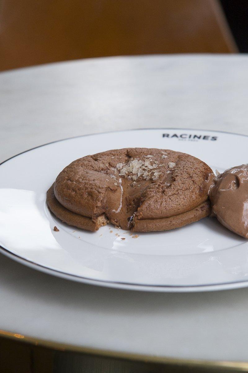 Tarte chocolat coulant