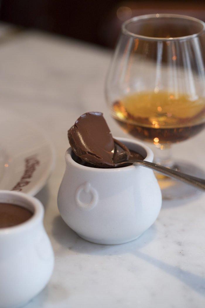 crème chocolat petit pot